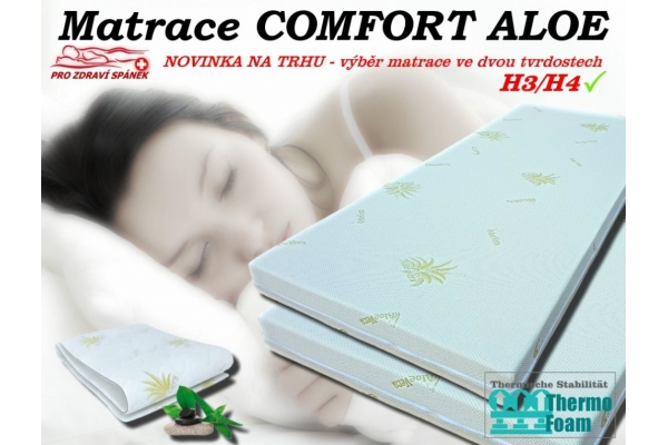 Matrace Comfort ALOE 14cm