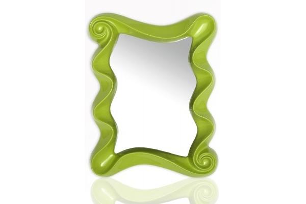 Zrcadlo Wonderland - Zelené