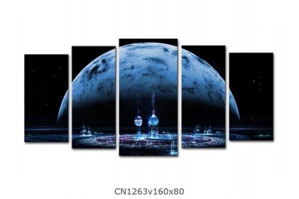 Obraz Modrý měsíc