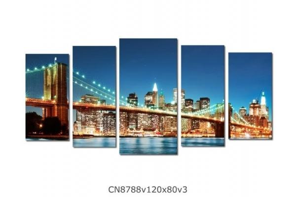 Obraz Osvětlený most