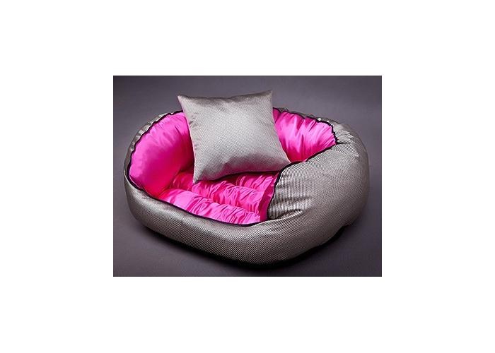 Pelíšek pro psa Lux line - růžový