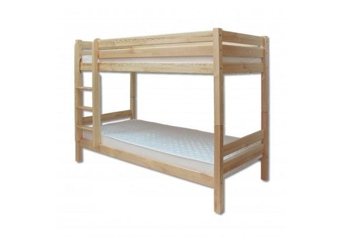 Patrová postel z masivu Drewmax LK 136