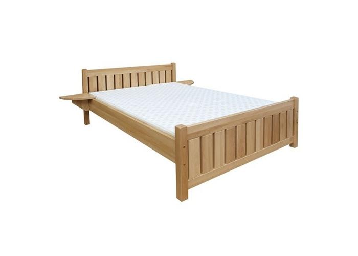 Buková postel LUCIE masiv