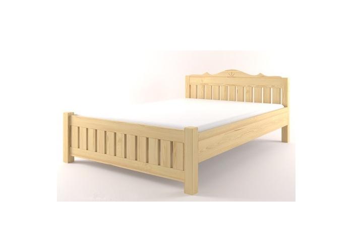 Manželská postel Castello S38 borovice