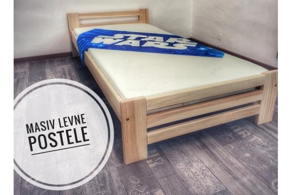 Borovicová postel NUNO