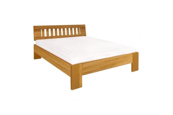 Masivní postel DUB RUBY