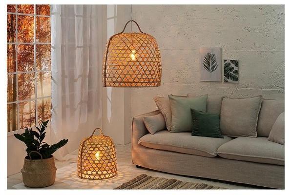 Zavěsná lampa Bambus 60cm