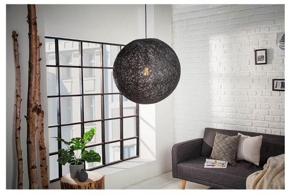 Závěsná lampa Cocooning M černá 35cm