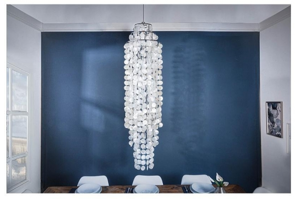 Závěsná lampa Longshell Rings XL