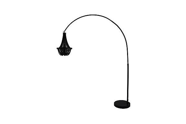 Stojací lampa Royal černá 170-210cm