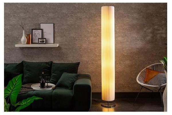 Stojací lampa Salone bílá 200cm