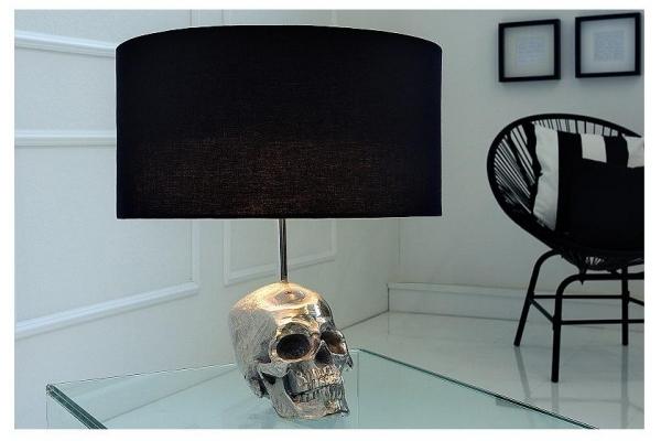 Stolní lampa lebka 44cm