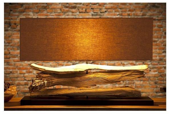 Stolní lampa v přírodního dřevě Riverine