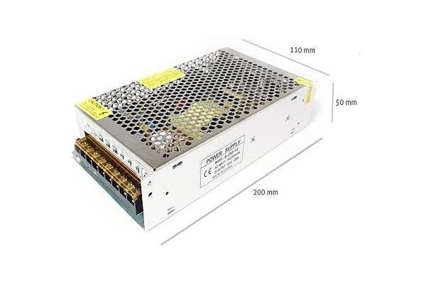 Napájecí zdroj pro LED pásky 20.8A 250W 12V DC plech