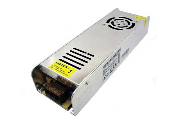 BERGE napájecí zdroj pro LED - 12V - 30A - 360W - IP20 - slim - modulární