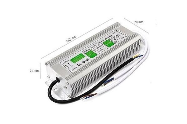 Zdroj, trafo 10A 120W vodotěsný pro LED pásky
