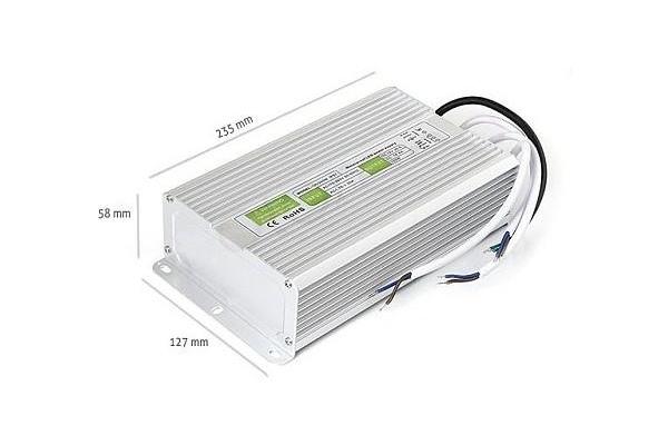 Zdroj, trafo 16.5A 200W vodotěsný pro LED pásky