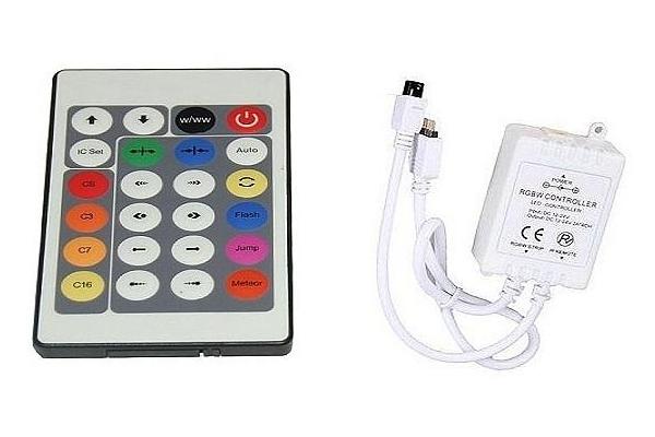 Kontroler s ovladačem pro LED Pásky DIGITAL - 23key - IR