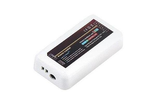 Přijímač do dálkového ovládání pro jednobarevné LED 4 zóny
