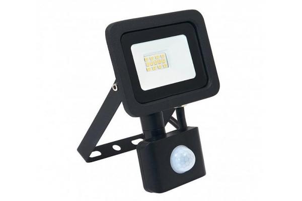 LED reflektor RODIX PREMIUM s čidlem PIR - 10W - IP65 - 850Lm - studená bílá - 6000K - záruka 36 měsíců