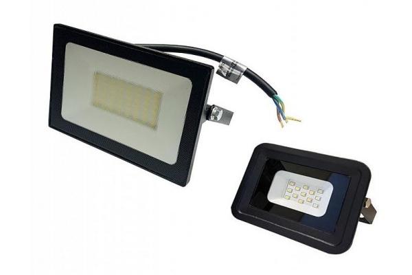 LED reflektor 50W + 10W - IP65 - studená bílá - 6500K