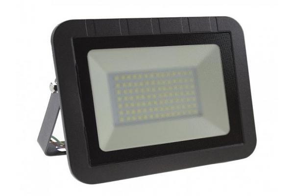LED reflektor SLIM SMD - 50W - IP65 - 3400Lm - teplá bílá - 3000K