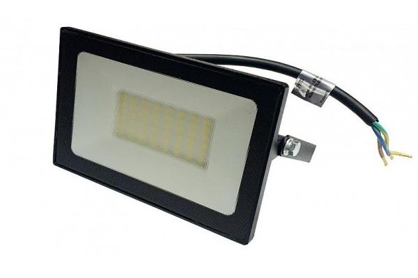 LED reflektor SLIM SMD - 50W - IP65 - 4000Lm - studená bílá - 6000K