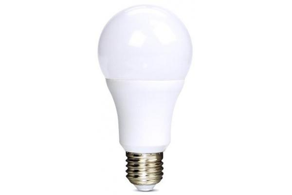 Solight LED žárovka, klasický tvar, studená bílá 12W, E27, 6000K, 270°, 1010lm