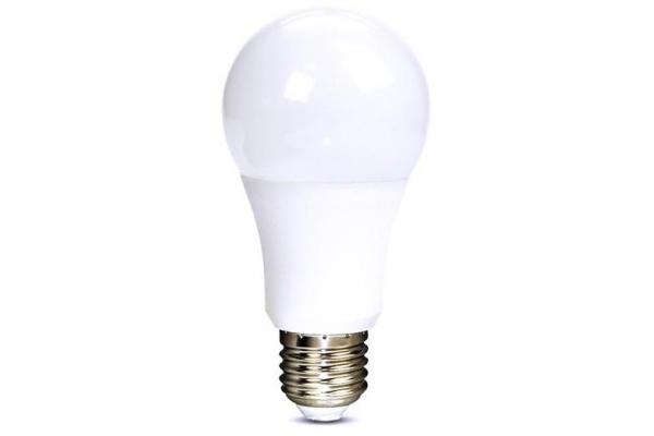 Solight LED žárovka, klasický tvar,neutrální bílá 12W, E27, 4000K, 270°, 1010lm