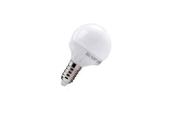 LED žárovka Berge  - E14 - 4W - 360Lm - koule - studená bílá