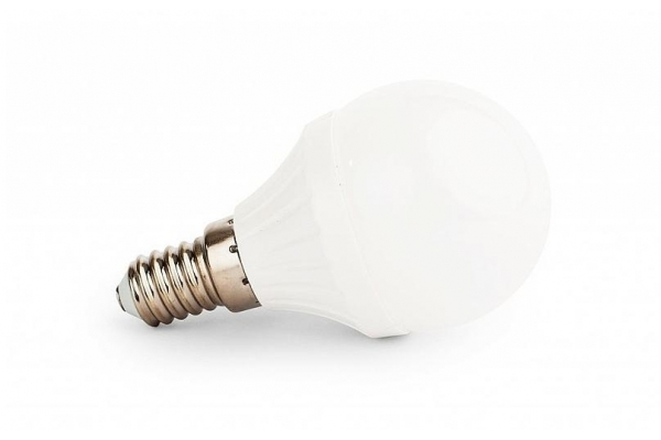 LED žárovka Berge - E14 - 6W - 540Lm - koule - studená bílá