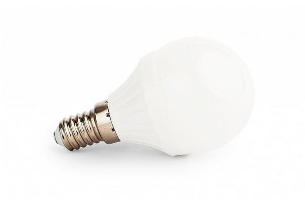 LED žárovka Berge - E14 - 8W - 720Lm - koule - studená bílá