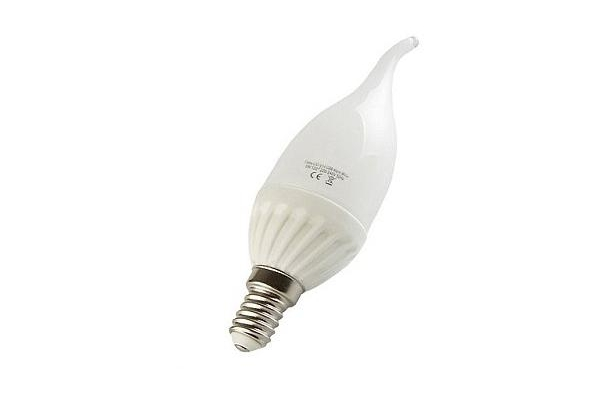 SPLED LED žárovka Berge - plamínek - E14 - 4W - 230V - 360Lm - teplá bílá