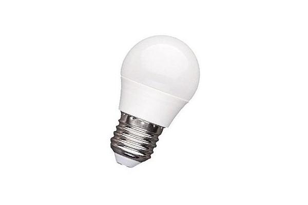 LED žárovka - Berge - G45 - E27 - 5W - 400Lm - koule - teplá bílá