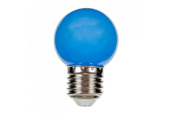 SPECTRUM LED žárovka koule - Berge - SMD 2835 - E27 - 1W - 230V - modrá