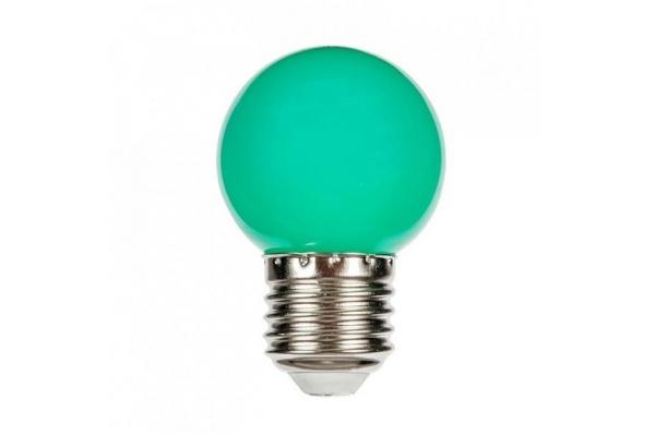 SPECTRUM LED žárovka koule - Berge - SMD 2835 - E27 - 1W - 230V - zelená