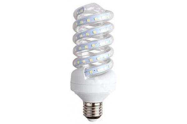 LED žárovka spirála - Berge - E27 - 15W - 1300Lm - teplá bílá