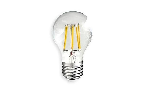 LED žárovka - Berge - E27 - 6W - 600Lm  - G45 - filament - neutrální bílá
