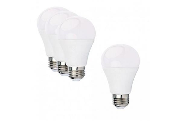 3+1 LED žárovka - E27 - A60 - 12W - 980Lm - neutrální bílá