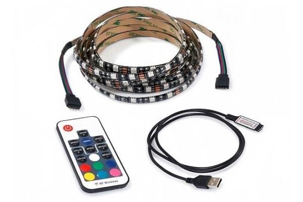 LED pásek za TV - 5V - 3m - 60LED/m - 43W - IP20 - RF17