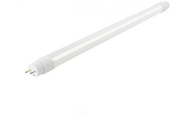 LED trubice - T8 - 60cm - 9W - PVC - jednostranné napájení - teplá bílá