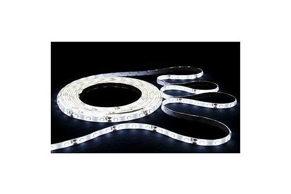 BERGE LED pásek - SMD 3528 - 5m - 60LED/m - 4W/m - IP20 - studená bílá