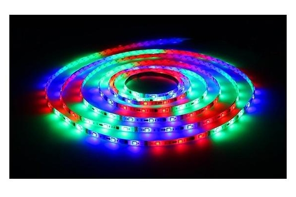 BERGE LED pásek - SMD 5050 - RGB DIGITAL - 5m - 30LED/m - 7,2W/m - IP65
