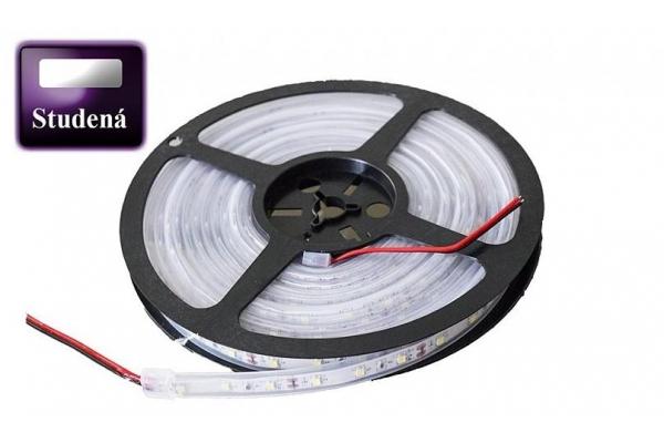 BERGE LED pásek - SMD 2835 - 5m - 60LED/m - 10,8W/m - IP67 - studená bílá