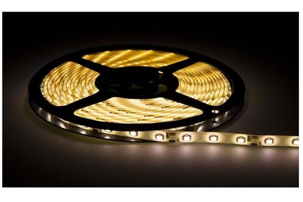 BERGE LED pásek - SMD 2835 - 5m - 60LED/m - 10W/m - 4500Lm - IP65 - teplá bílá