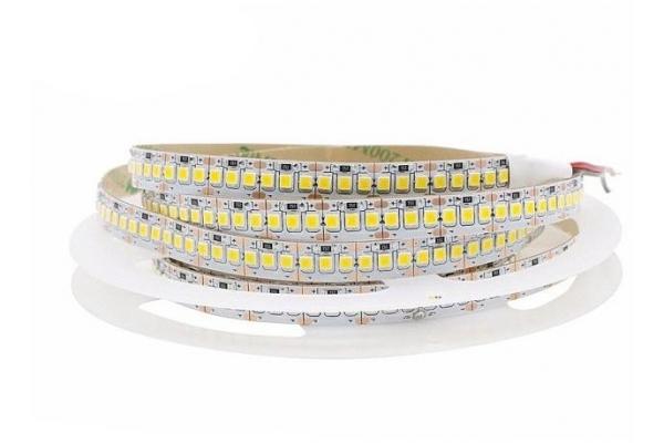 LED pásek - 2835 - 120W - 24W/m - IP20 - 12V - 5m - neutrální bílá