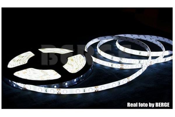 BERGE LED pásek - SMD 5630 - 5m - 60LED/m - 18W/m - IP20 - studená bílá