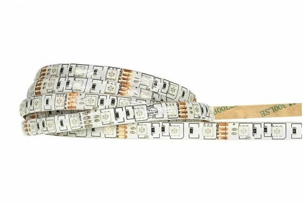 BERGE LED pásek - SMD 5050 - RGB - 5m - 60LED/m - 14,4W/h - IP65 - s konektorem