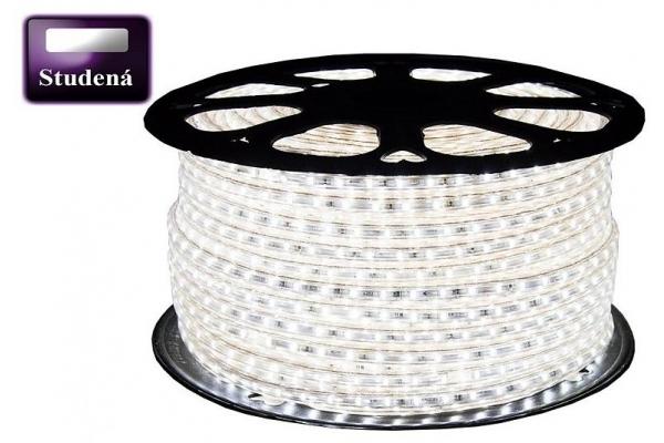BERGE LED pásek - 230V - SMD 2835 - 1m - 60LED/m- 6W/m - 380Lm - IP68 - studená bílá - 10mm