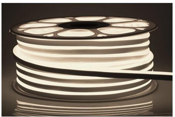 LED pásek NEON - 230V - 1m - 8W/m - IP68 - vodotěsný - neutrální bílá